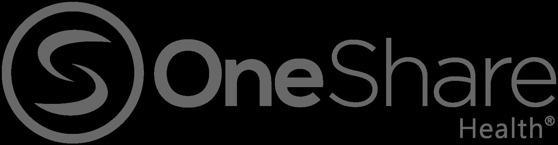 2020_OneShare_Health_Wordmark_CMYK_Grey