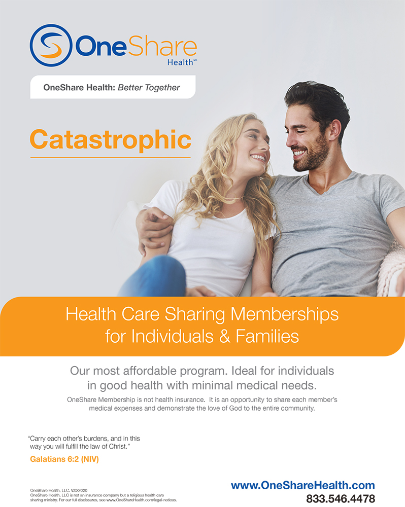 OneShare Health | Healthcare Sharing Plans | Catastrophic Health Cost Sharing Program Download