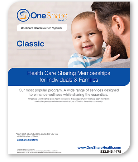 OneShare's HCSM offers a cheap classic health care plan. Learn more and get the best classic health care plan for your family!