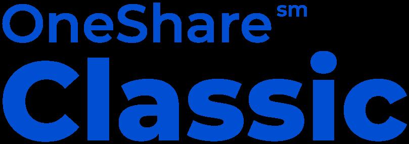 OneShare Classic Sharing Program