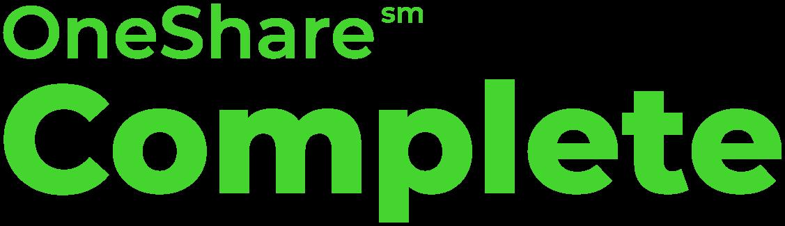 OneShare Complete Sharing Program